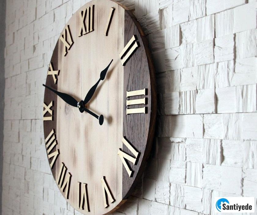 Duvar saati ile Evi Güzel Gösteren Aksesuarlar