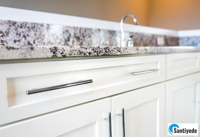 mutfağı temiz göstermek