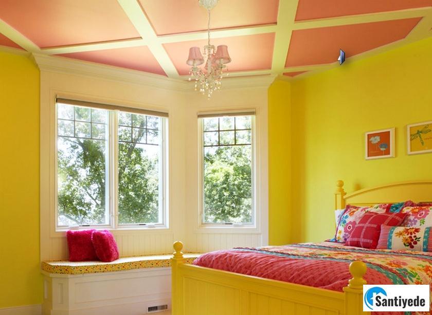 sarı pembe renk uyumu