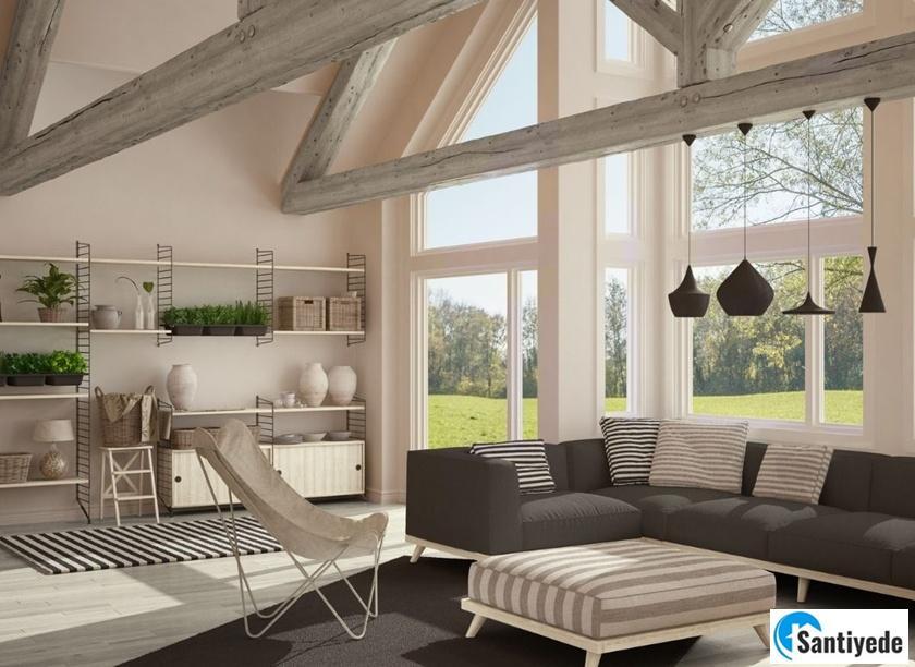 yazlık ev dekorasyonu önerisi