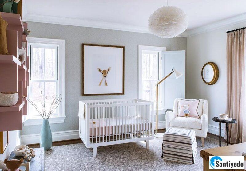 Bebek Odası Duvar Rengi Seçimi