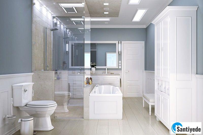 Klasik Tuvalet ve Banyo Tasarımı
