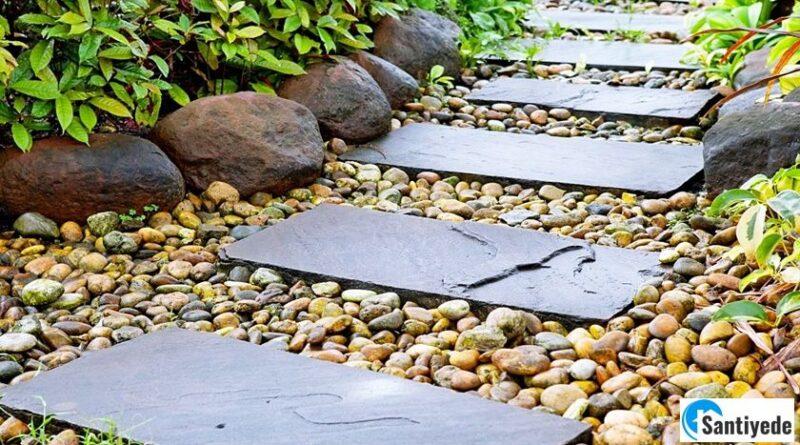 Taşlarla Bahçe Peyzajı