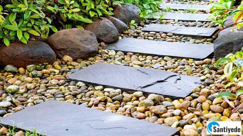 Taşlarla Bahçe Peyzajı Nasıl Yapılır