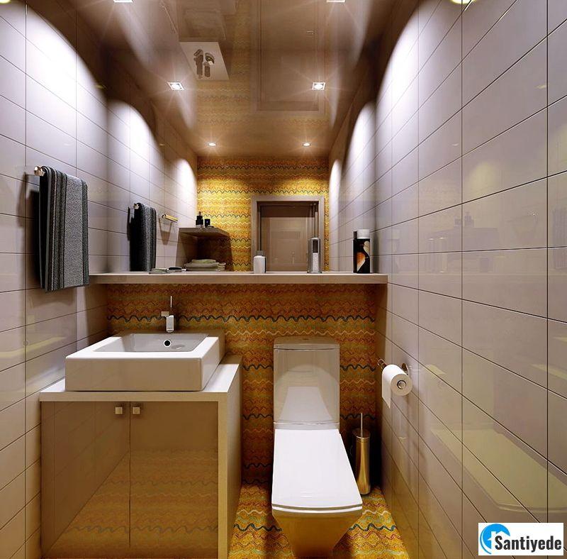 Küçük tuvalet mobilya seçimi