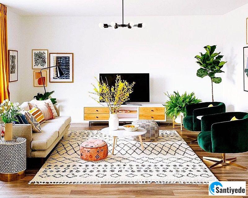 Oturma odası mobilya dekorasyon fikirleri
