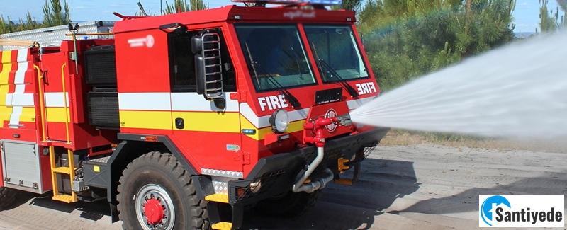 Arazöz yangın müdahale araçları
