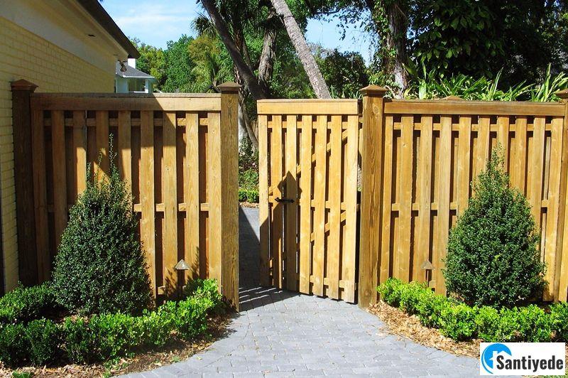 Bahçe çitlerinin dekorasyonda önemi