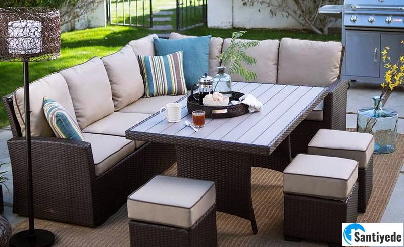 Bahçe mobilyalarında fonksiyonel tasarım