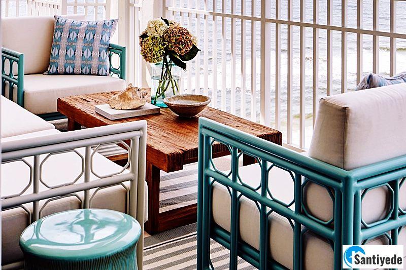 Balkon Kilim Uyumu