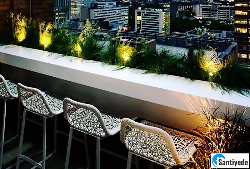 Balkon led aydınlatma