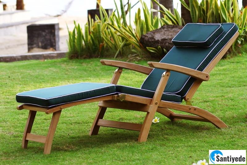 Şezlong bahçe mobilyaları