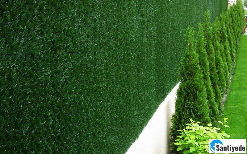 duvar çim çitleri
