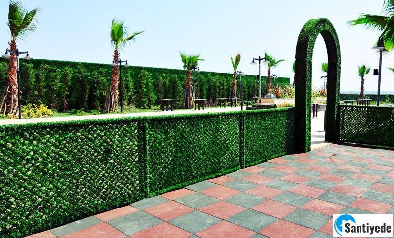 en güzel çim duvarlar