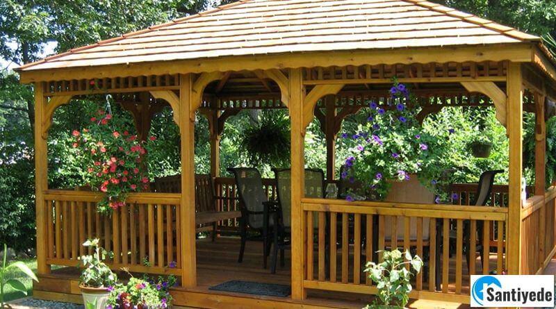 Bahçe Kamelya ve Bahçe Çardak Çeşitleri ile Bahçelerinizi Güzelleştirin