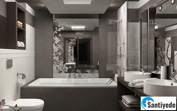 Mat - açık gri banyo