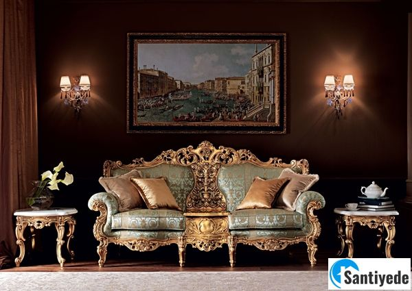 Barok mobilya modeli