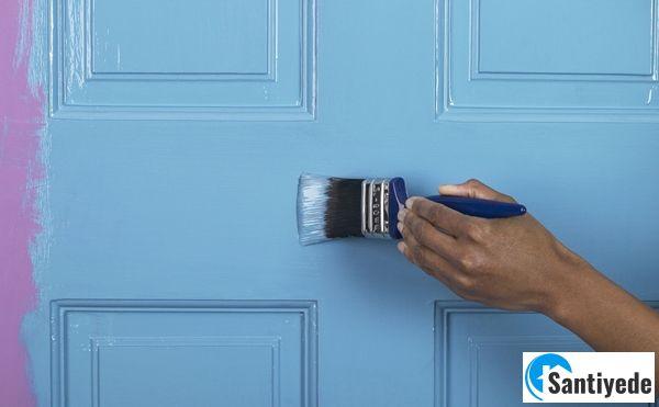 Kapı boya renginin değiştirilmesi